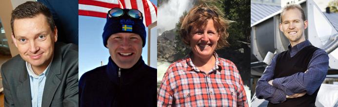 Fyra inspirationsföreläsare klara för kongressen